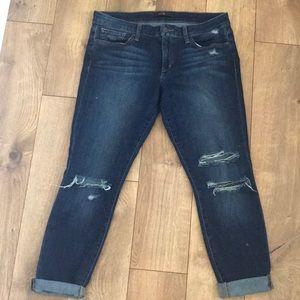 Skinny Boyfriend Joe's Jeans Distressed Petite 31
